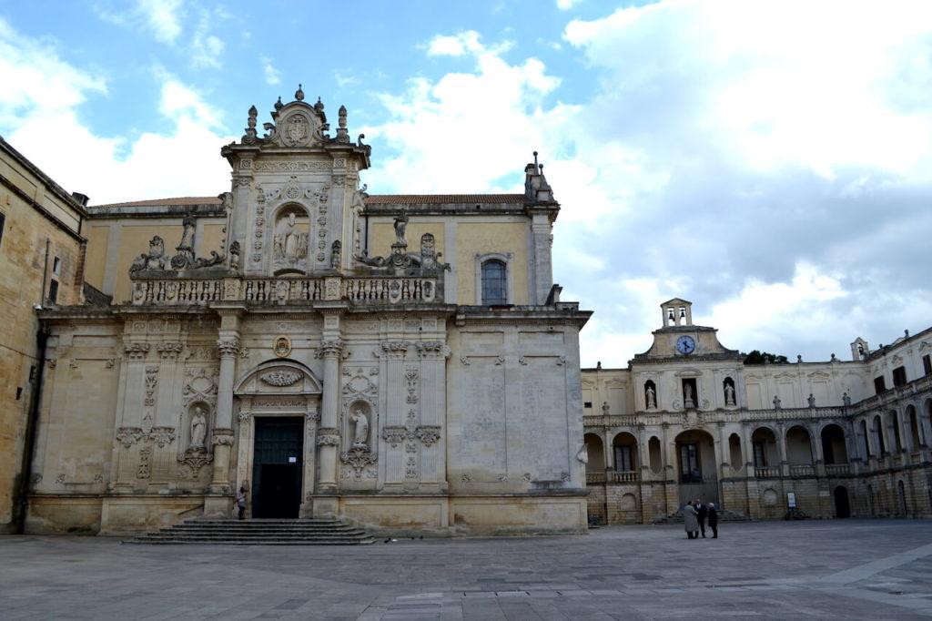 Piazza del Duomo in Lecce, Puglia