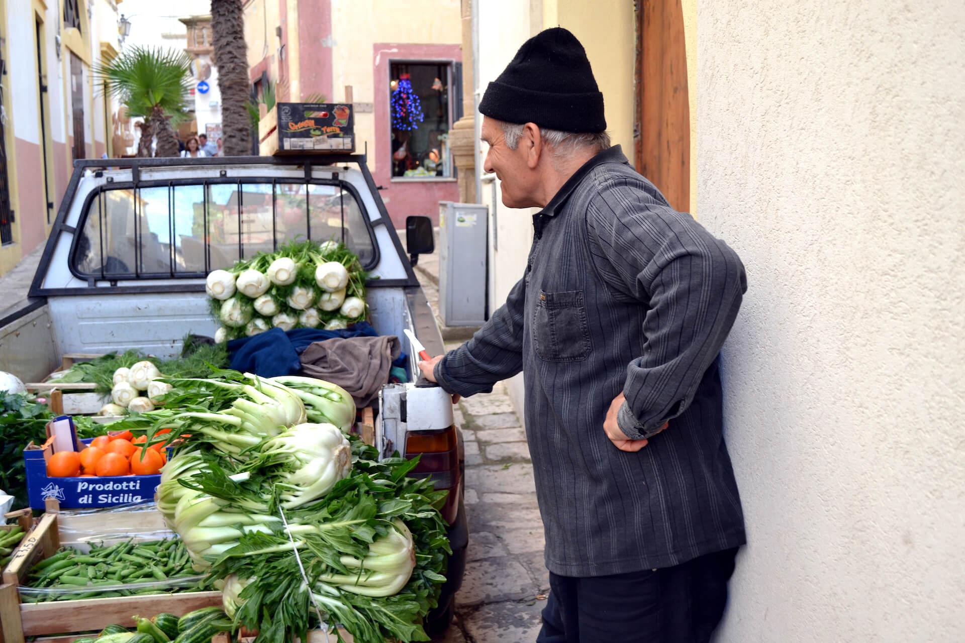 Groenten uit Puglia