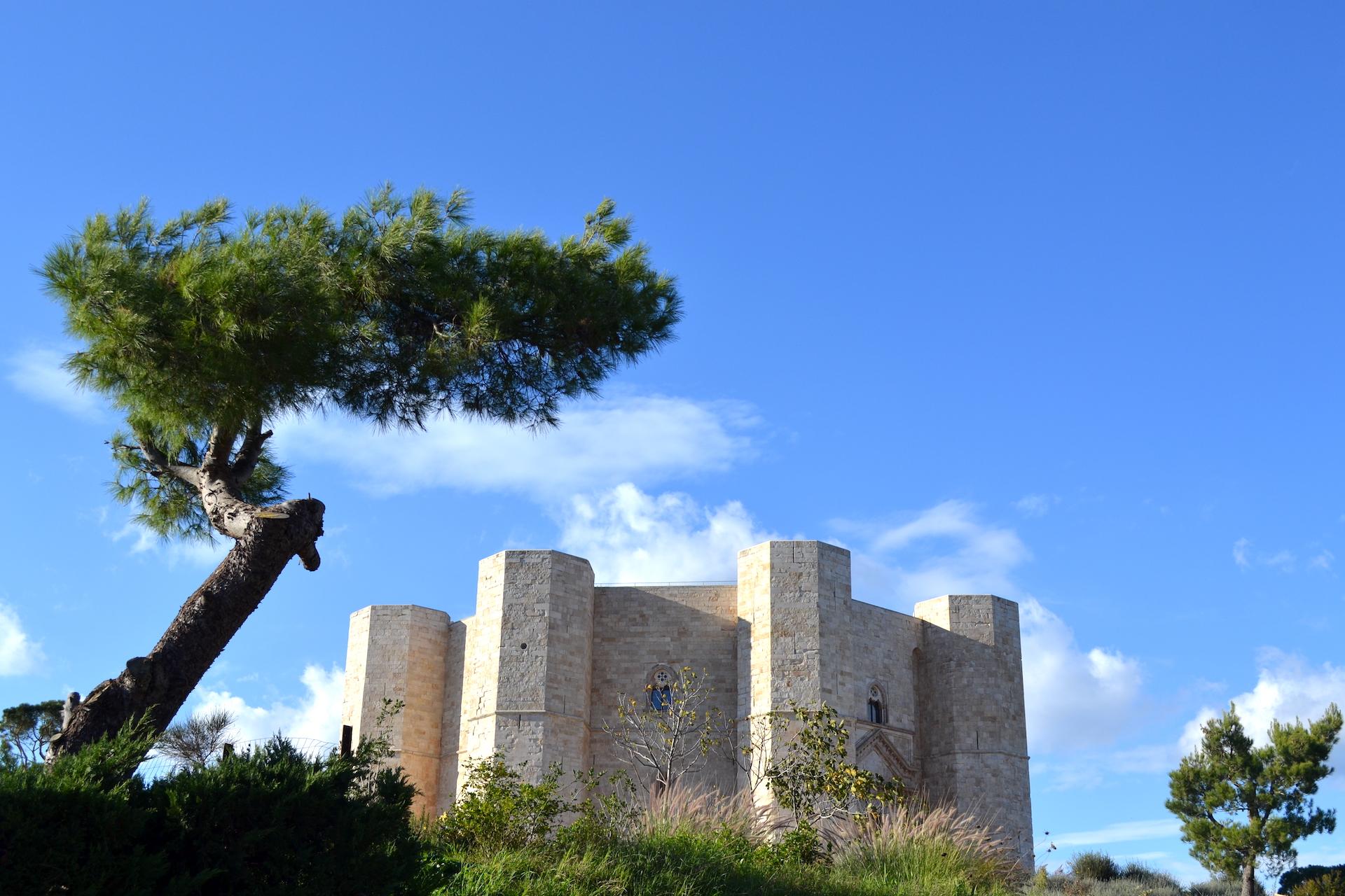 Castel del Monte in Puglia, Italië