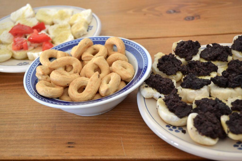 Taralli, hartige koekjes uit Puglia
